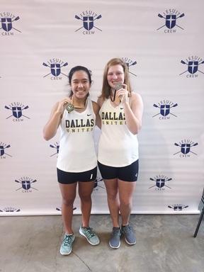 Bella Tiscareno and Kate Burkhart  won gold and si