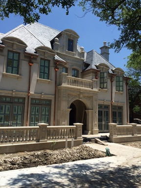 Traditional French New Construction Home