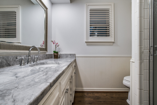 Completely updated Bathroom