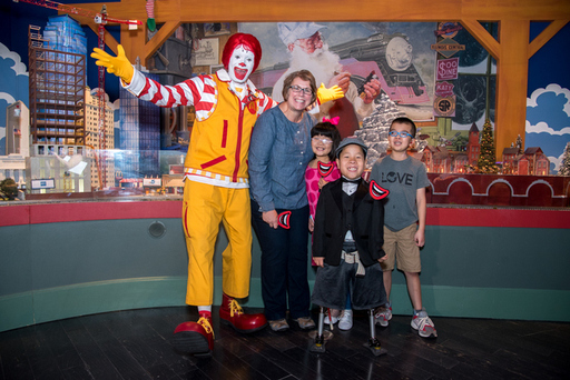 Ronald McDonald Opens The Trains a NorthPark with