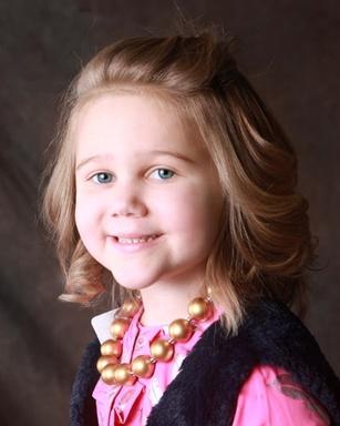 Caroline Duncan, 5, of Southlake