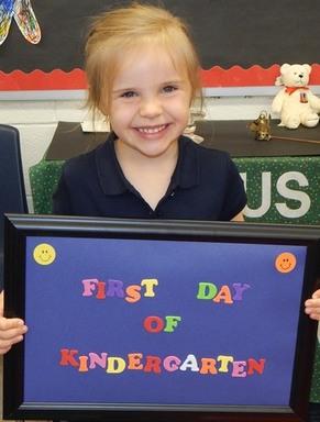 Kindergarten is fun!